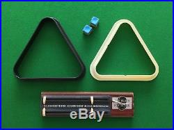 POT BLACK 6x3ft Folding Pool/Snooker Table with Balls and Accessories