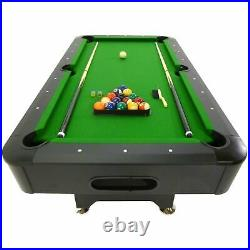 PT200 6ft Automatic Ball Return System Pool Table with Accessories Viavito