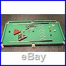 Pool And Snooker Table 4Ft 6In Easy Foldable Portable Set With Balls Accessories