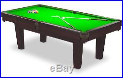 Pool Dining Table 6FT Radley Prime Billiard Multi Games Table Free Accessories