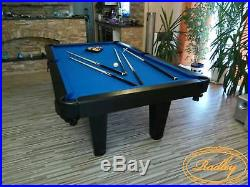 Pool Dining Table 7FT Radley Prime Billiard Multi Games Table Free Accessories
