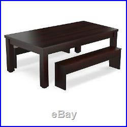 Pool Dining Table 7FT Radley Verso Billiard Table and Benches Free Accessories