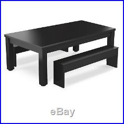 Pool Dining Table 8FT Radley Verso Billiard Table and Benches Free Accessories