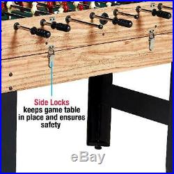 Pool Hockey Foosball Game Table Accessories Family Soccer Billiards Multi Combo