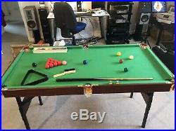 Pool Table 54X27 Inch