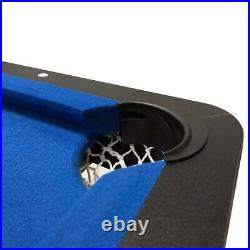 Pool Table 5ft Folding Table Tennis Games With Accessories Snooker Uk Seller
