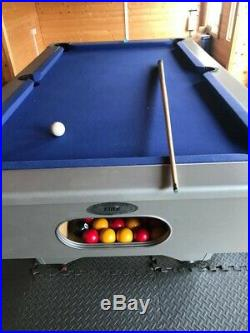 Pool Table 6ft x 3ft Slate Bed inc all accessories
