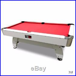 Pool Table 7FT Billiard Empire King Diamond Red Table cloth Free Accessories