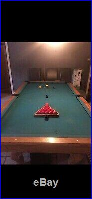 Pool Table 8 Foot, Plus Accessories. Collection Only