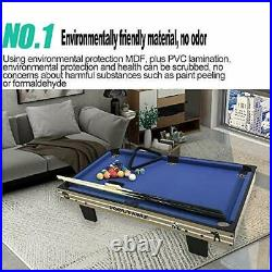 Pool Table Accessories Kit with Pool Balls, Pool Chalk, Pool Triangle, and Pool
