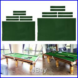 Pool Table Cloth Felt Snooker Table Accessories for Billiard Cloth 8ft + 7ft