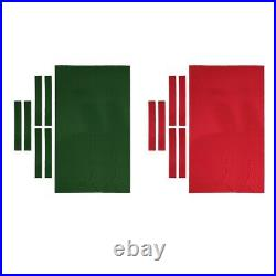 Pool Table Felt 9ft Wool Blend Cover Accessories Supplies with Side Strips