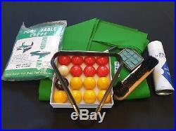 Pool Table Recovering Kit. Fully Loaded Pro Nap Cloth