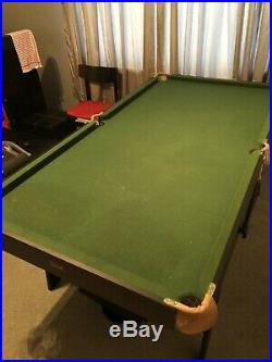 Pool Table Stands Up/collapsible Comes With Accessories
