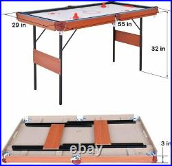 Pool Table, Table Tennis, 3 in 1 Multi Game Table Top Inc Accessories FREE DELIV