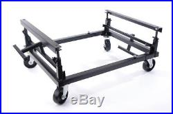 Pool-Table Trolley for moving a pool-tables