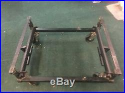 Pool-Table Trolley / lifter for moving a pool-tables
