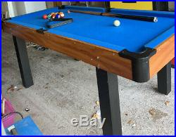 Pool Table With Accessories