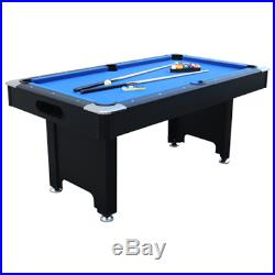 Pool table 6ft red black mahogany green blue all accessories snookerl