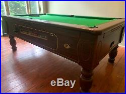 Pool table (ex-pub, includes all accessories, nice condition, proper slate base)