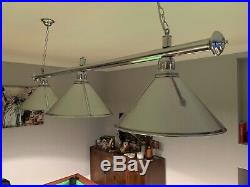 Pool table lights used but In excellent condition