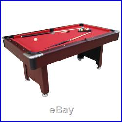 Pool table table board 7ft new in box accessories mahogany