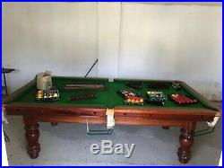 Professional 3/4 Snooker/Pool Table with accessories
