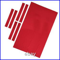 Professional Billiard Pool Table Cloth 9ft Pool Table Felt Accessories Red
