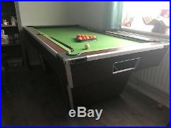 Pub Pool Table With Accessories Balls, Queues & Triangle Included