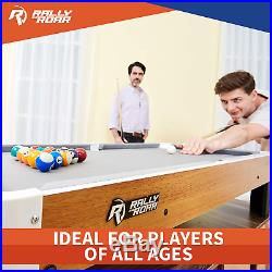 Rally And Roar Tabletop Pool Table Set And Accessories, 40 X 20 X 9 M
