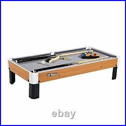 Rally and Roar Tabletop Pool Table Set and Accessories 40 x 20 x 9 Mini