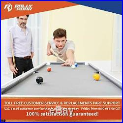 Rally and Roar Tabletop Pool Table Set and Accessories, 40 x 20 x 9 Mini, T
