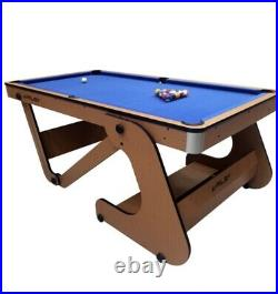 Riley 6ft American Pool Table Folding With Accessories
