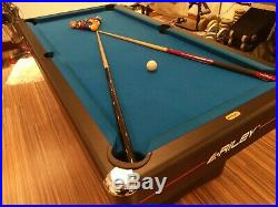 Riley 6ft pool table with cues and accessories