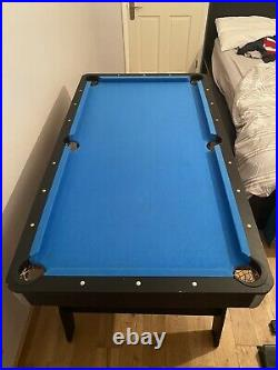 Rileys Pool Table With 1 Cue And All The Accessories