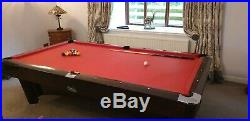SAM Pool Table (9ft) with balls, cues and many accessories