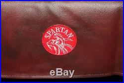 SPARTAN Heavy Duty Water Resistant 8ft Pool Table Cover 8FT BURGUNDY
