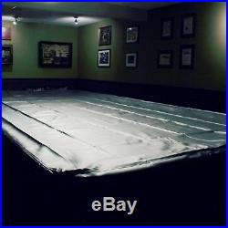 SPARTAN Heavy Duty Water Resistant 9ft American Pool Table Cover 9FT BLACK