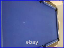 SUPREME 6X3 Slate Bed Pool Table & accessories Good Condition