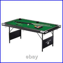 SereneLife High quality 76'' Portable and Foldable Pool Table with Accessory Kit