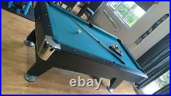 Slate bed Pool table 7ft x 4 used but in good condition comes with accessories