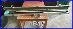 Snooker Cue And A Silver Case