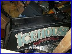 Snooker /Pool/ Billiards table light ICEHOUSE