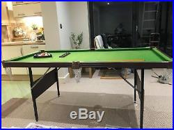 Snooker / Pool Table With Accessories (Excellent Condition)