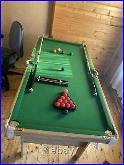 Snooker/Pool Table and Accessories Kids/ Junior/ Youth/ Home Table