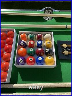 Snooker / Pool table 6ft, Plus all Accessories, Cues, Etc, Nearly New, RRP £699