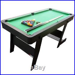 Snooker Table 5Ft Folding Billard Pool Table With Accessories Sport Game Family