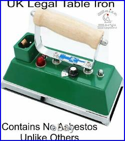 Snooker Table Iron. UK Legal with No Asbestos. Brand New & Warranty