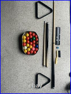 Snooker and pool table With All Accessories