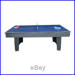 Solex 2-in-1 Table Tennis and Pool Table 7ft With All Accessories